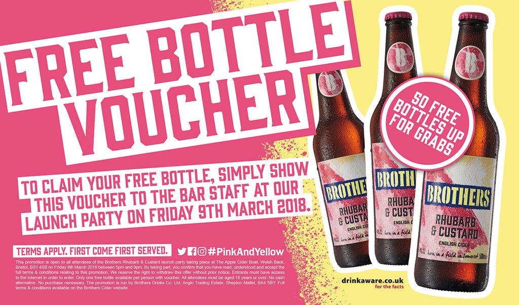 FREE Bottle Voucher