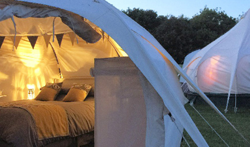 Luxury Lotus bell tents