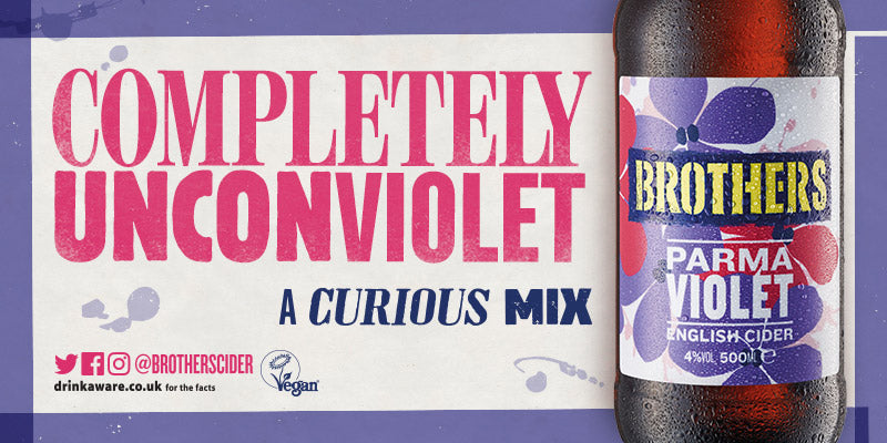 Brothers Parma Violet Cider - A Curious Mix