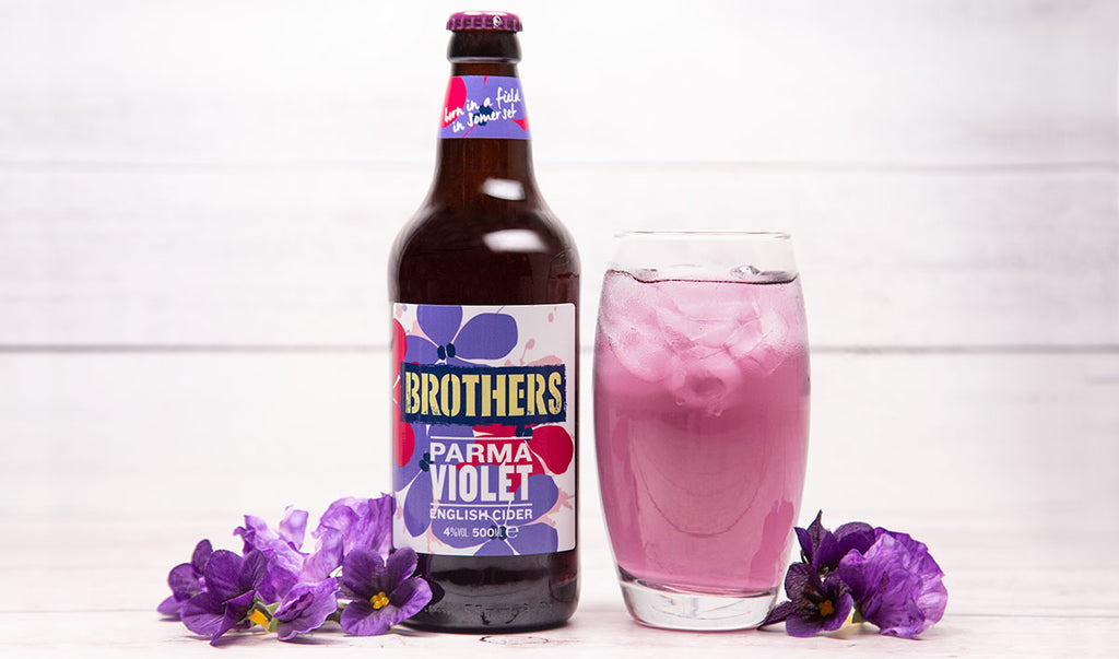 Parma Violet cider - The newest member of the Brothers