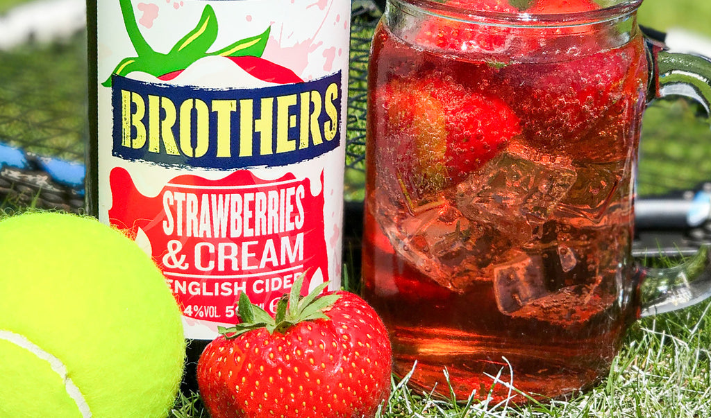 Brothers Strawberries & Cream cider
