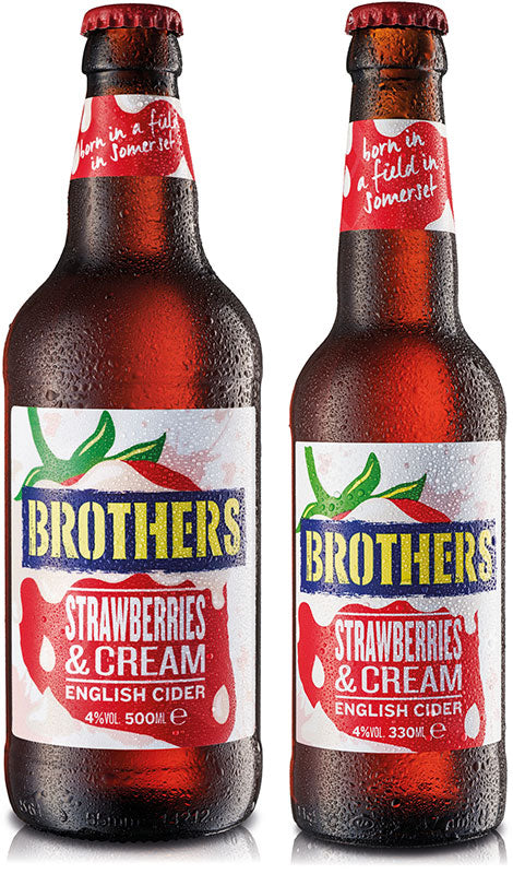 Strawberries & Cream English Cider