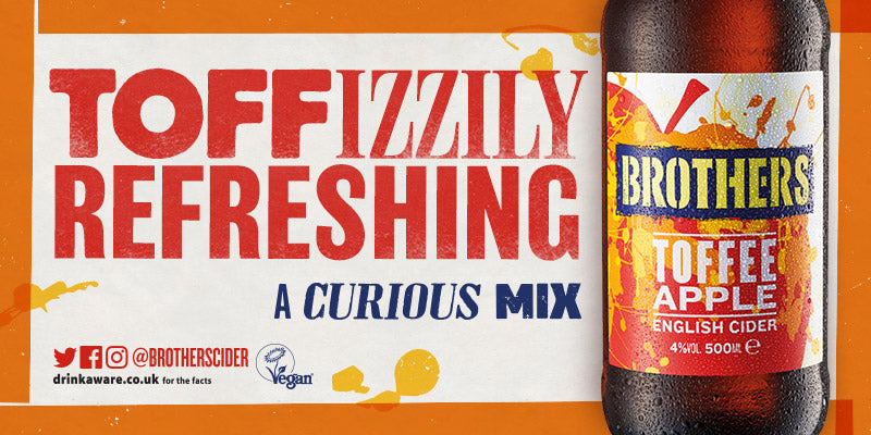 Brothers Toffee Apple Cider - A Curious Mix