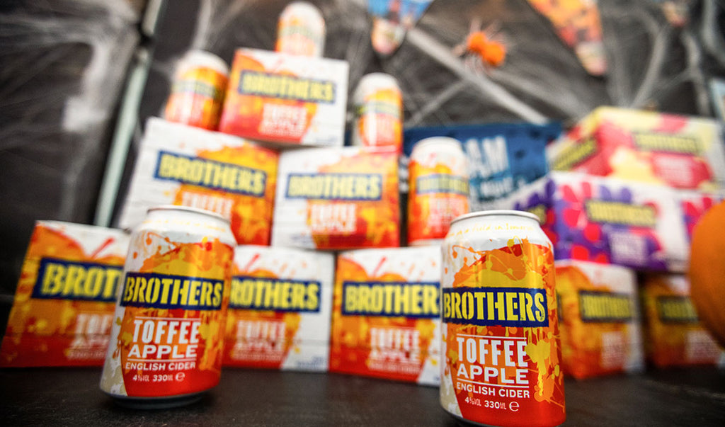 Brothers Toffee Apple Cider in 330ml cans
