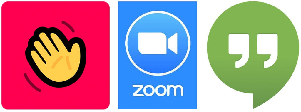 House Party, Zoom and Google Hangouts