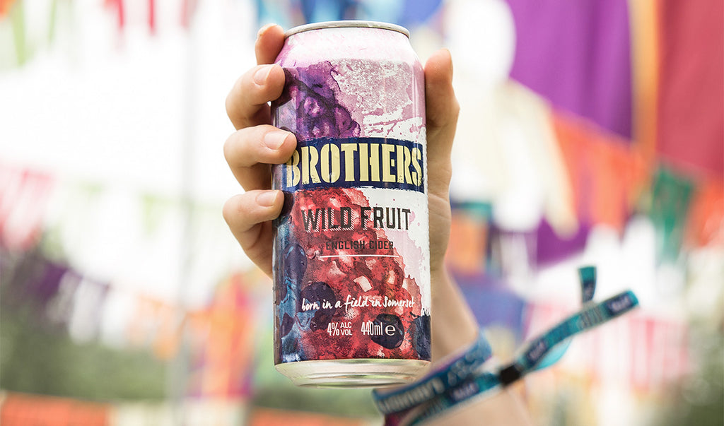 Brothers Wild Fruit cans