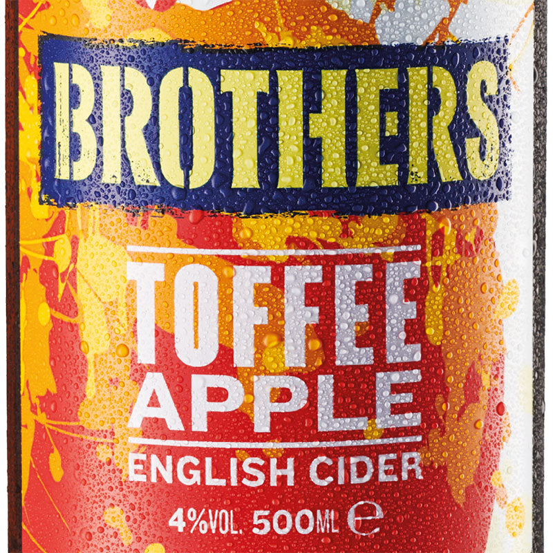 Brothers Toffee Apple fruit cider