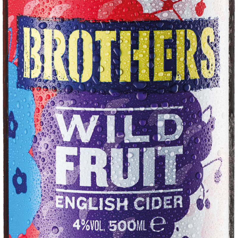 Brothers Wild Fruit English cider