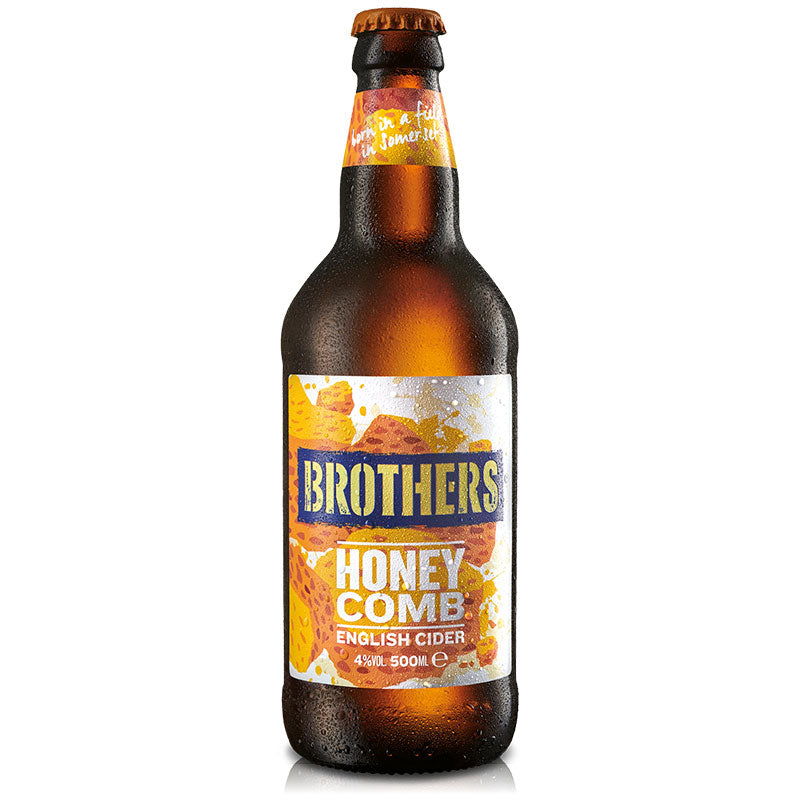 Honeycomb flavoured cider