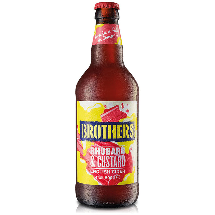 Brothers Rhubarb & Custard fruit flavoured cider