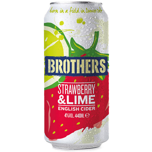 Strawberry & Lime fruit cider 440ml can