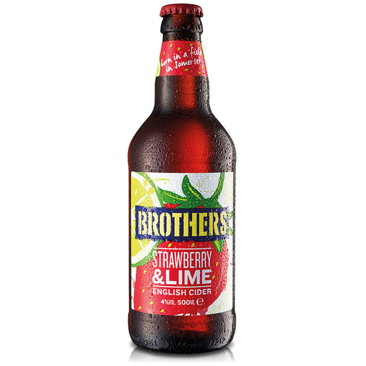 Strawberry And Lime fruit flavoured cider