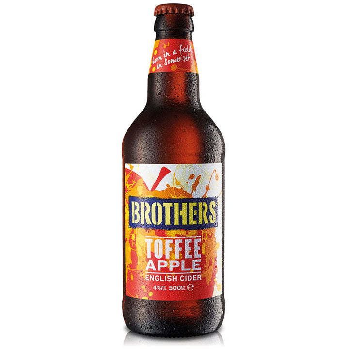 Toffee Apple flavoured fruit cider