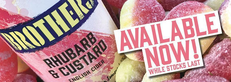 Rhubarb & Custard available now - while stocks last!