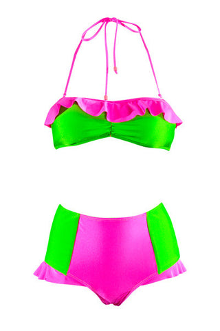 Sundae Funday Neapolitan Highwaist Brief