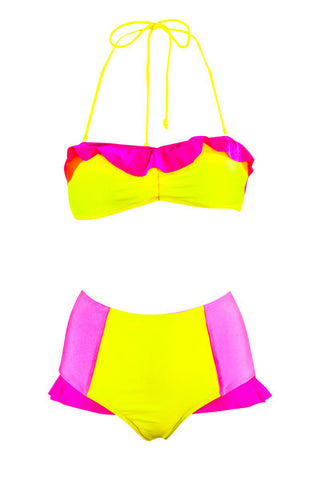 Love Heart Reef Frill Brief