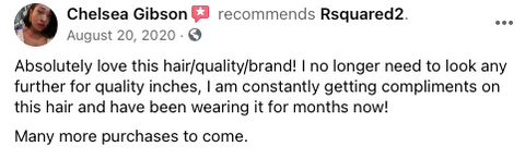 Customer Review of Rsquared² Collection Virgin Hair Extensions