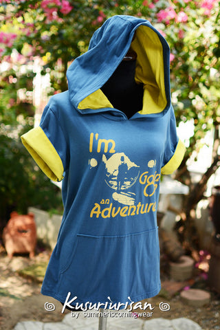 The hobbit I'm going on an adventure t shirt hoodie short sleeves