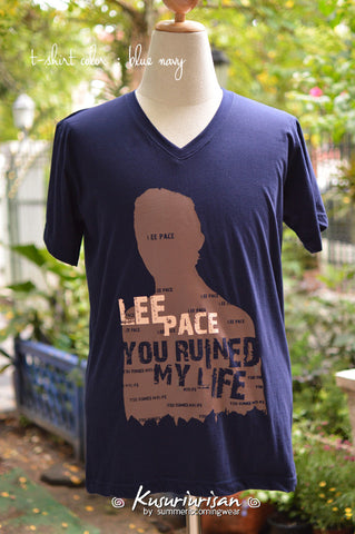 Lee Pace you ruined my life ver.2 t-shirt short sleeve