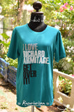 I love Richard Armitage get over it ver.2 t-shirt short sleeve