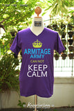 Armitage army can not keep calm t-shirt short sleeve