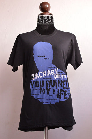 Zachary Quinto you ruined my life t-shirt short sleeve