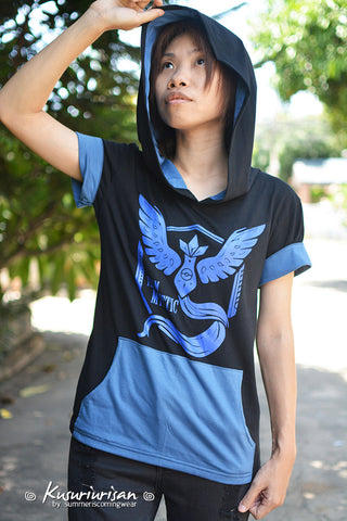 Pokemon blue rescue team MYSTIC t shirt hoodie short sleeve