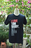 I love Tom Hardy get over it ver.2 t shirt short sleeve