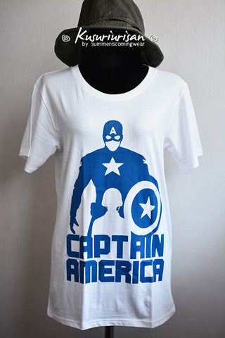 Captain America other side of life t-shirt short sleeve