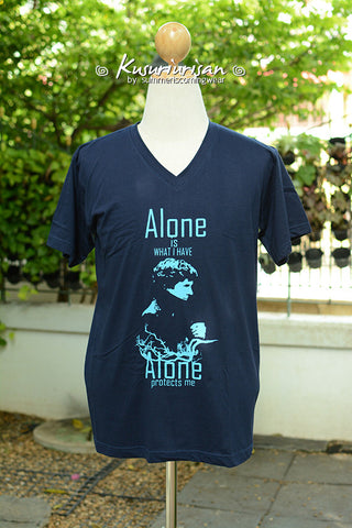 Sherlock Alone is what I have Alone protects me Ver.01 T-shirt short sleeve