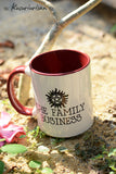 The family business Supernatural mug-4 color for choose