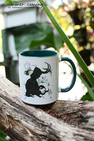 Loki mug I'm not your brother I never was-4 color for choose