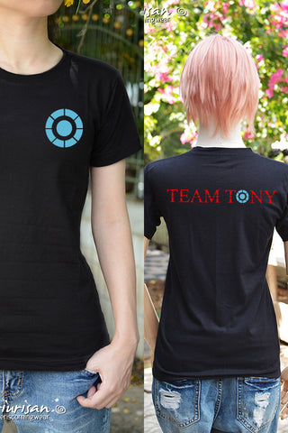 #TeamTony t-shirt short sleeve