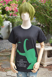 Loki I am burdened with glorious purpose green and gray ver. t-shirt short sleeve