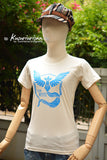Pokemon blue rescue team MYSTIC t shirt short sleeve