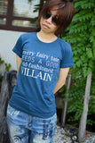 Moriarty a good old-fashioned Villain  print T-shirt