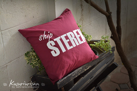 Teen wolf ship STEREK Cushions cover 16x16 inches