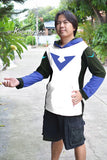 Voltron V symbols Ver2 on t-shirt hoodie long sleeve-can choose color lightweight hoodie