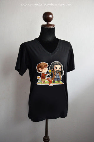 Chibi Thilbo t shirt short sleeve illustrat: by Kadeart