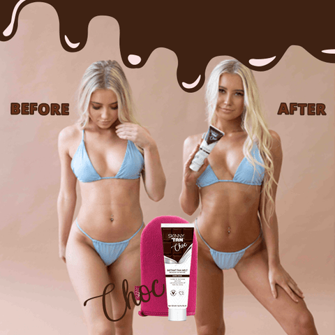 Choc Instant Tanner 125ml - Dark