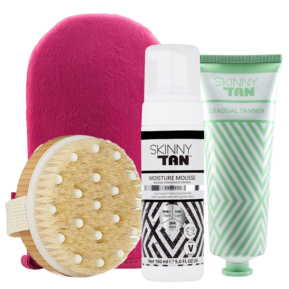 Prep, Tan and Maintain Kit (Moisture Mousse Express)