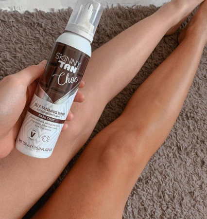 Choc Whip Tanning Mousse | Double Deal + Mitt