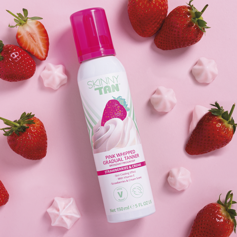 Strawberries & Cream Whipped Gradual Tanner 150ml