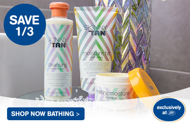 Save 1/3 Shop Now Bathing - Exclusively at Boots
