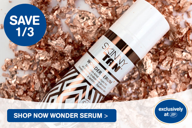 Save 1/3 Shop Now Wonder Serum - Exclusively at Boots
