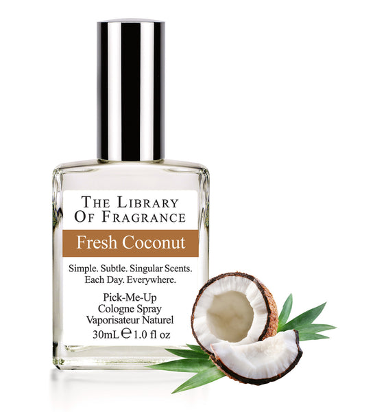 The Library of Fragrance Fresh Coconut 30ml