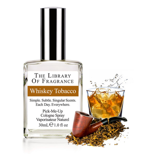 The Library of Fragrance Whiskey Tobacco 30ml
