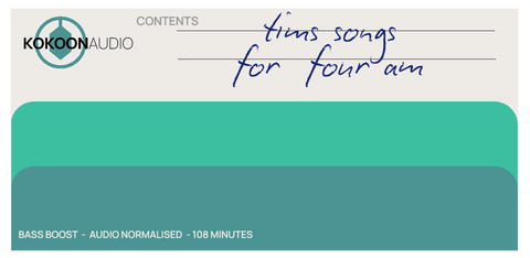 Tim's Songs for Four am