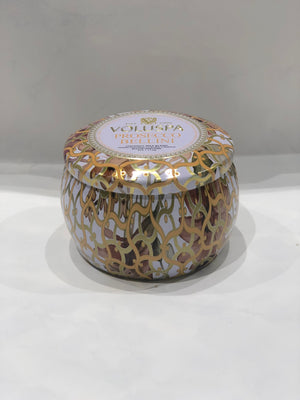 Voluspa Dec Tin Candle 25tim Prosecco Bellini