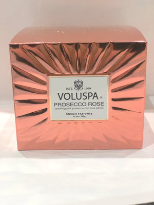 Voluspa Boxed Corta Maison Blass Candle 60tim Prosecco Rose